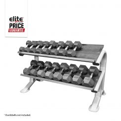ETS 2 TIER FLAT TRAY DUMBBELL RACK