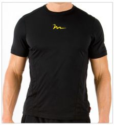 TECH T-SHIRT WITH WELDED VENT