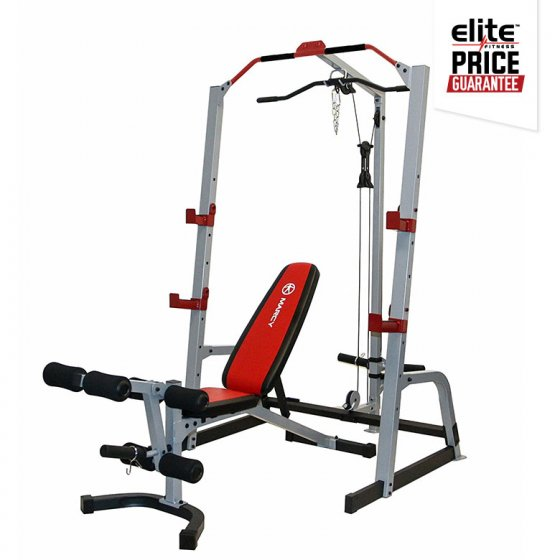 Marcy md complete cage system elite fitness nz