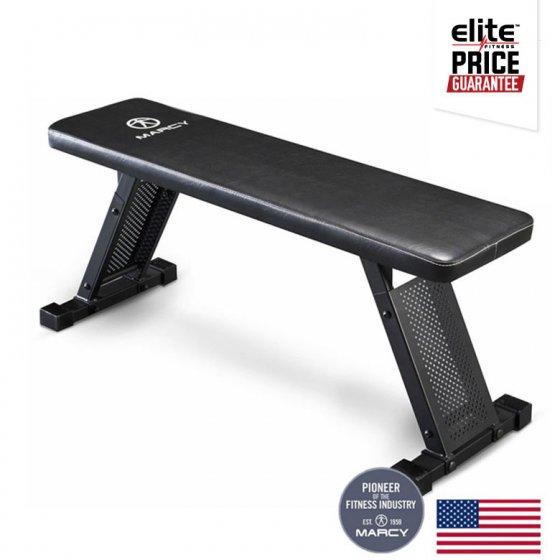 Marcy heavy duty flat bench elite fitness nz