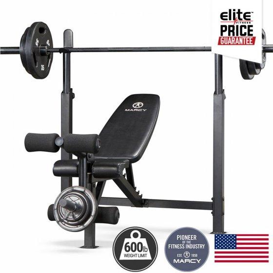 Marcy mfb club olympic bench elite fitness nz