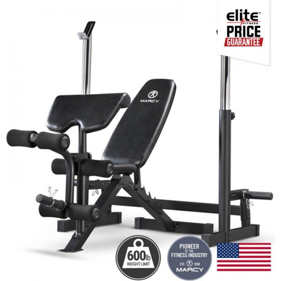 Marcy mfb club deluxe olympic bench elite fitness nz