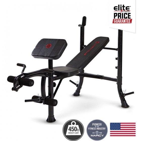 Marcy mkb standard weight bench elite fitness nz