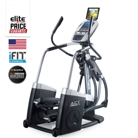 309f9c61791 NordicTrack ACT Touch Elliptical Cross Trainer