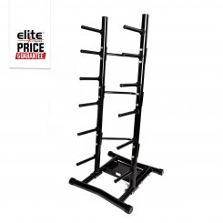 10 BAR AEROBIC BARBELL STORAGE RACK