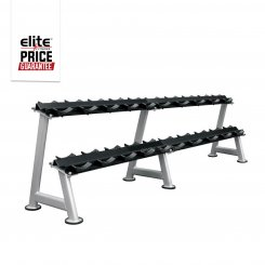 COMMERCIAL 2 TIER SADDLE DUMBBELL RACK