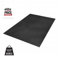 6FT X 4 FT 1 CM SOLID RUBBER FLOOR MAT