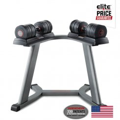 100LB SPEED DUMBBELL SET W/ STAND