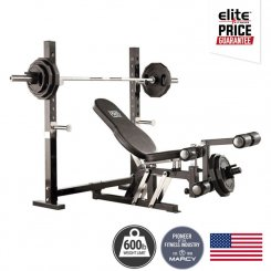 PM4200 PRO OLYMPIC BENCH + LEG EXTENSION