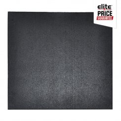 STAR-LITE RUBBER FLOOR TILE BLACK