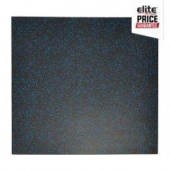 STAR-LITE RUBBER FLOOR TILE BLACK/BLUE