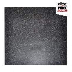 STAR-LITE RUBBER FLOOR TILE BLACK/GREY