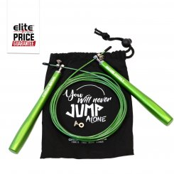 PROFESSIONAL HIGH-SPEED GREEN JUMP ROPE