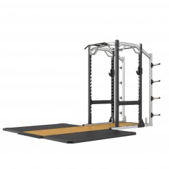 SE FULL POWER CAGE WITH STAND-SINGLE WEIGHT STORAGE AND PLATFORM
