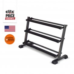 SUPERIOR 3-TIER DUMBBELL RACK