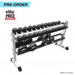 2 TIER ANGLED DUMBBELL RACK
