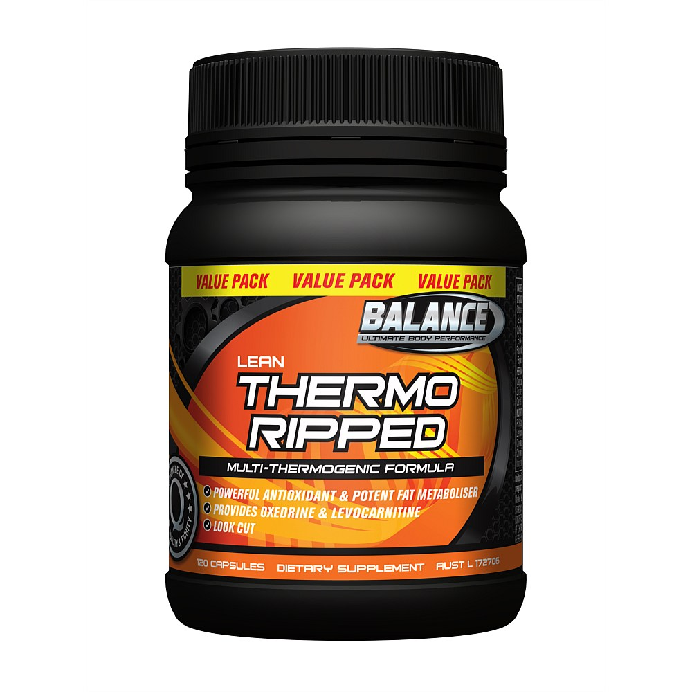 THERMO RIPPED 120 CAPS