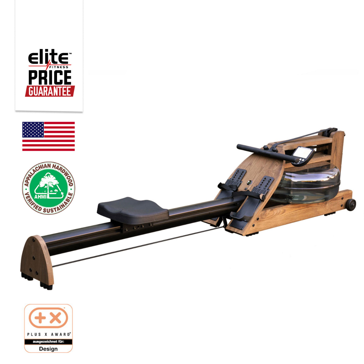 A1S4 WALNUT HOME ROWING MACHINE 2016