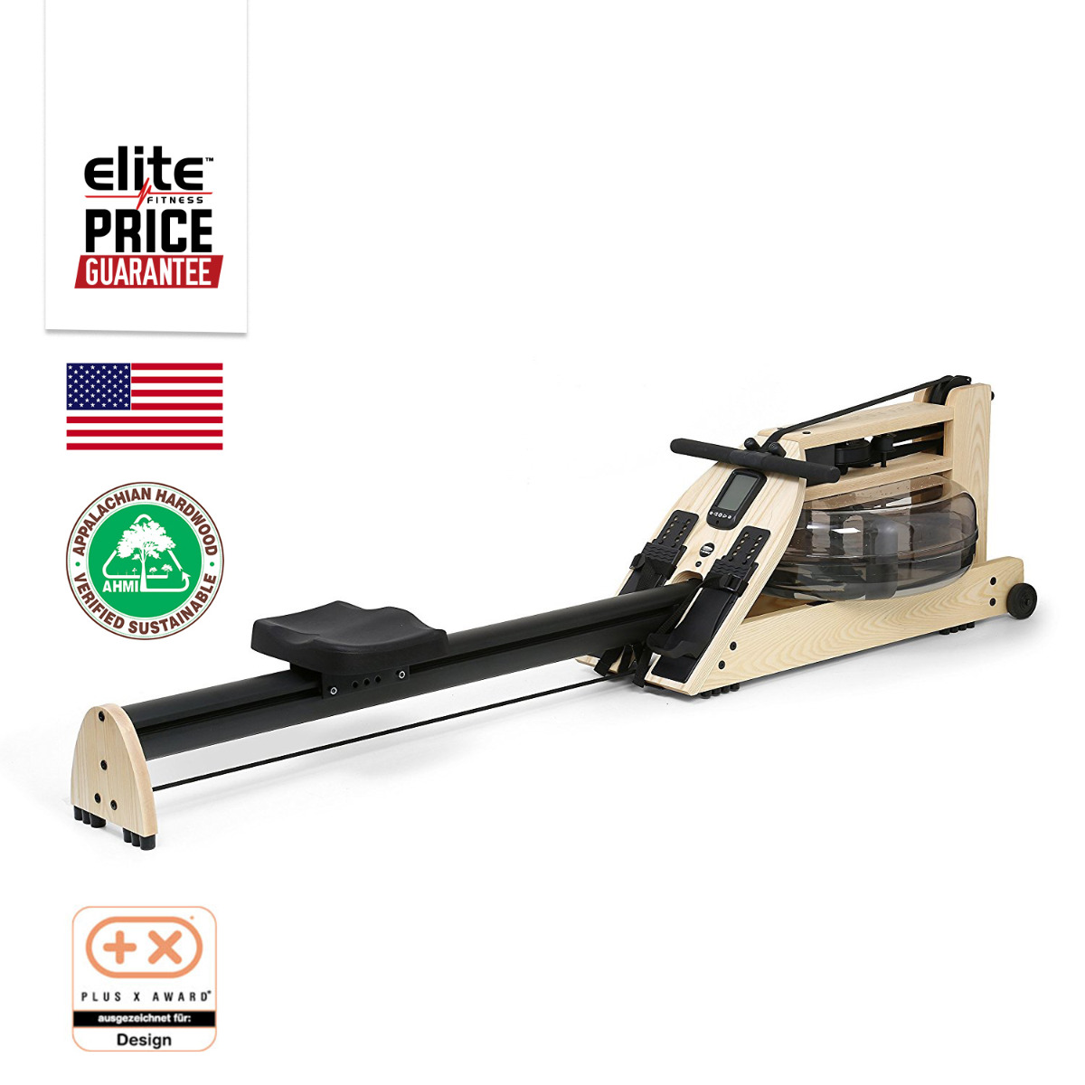 INDO-ROW  HONEY OAK STUDIO ROWING MACHINE