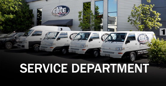 Fitness Equipment Service Department